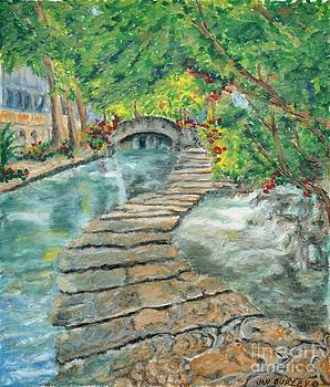 Old Riverwalk by Jan Burley Hunt