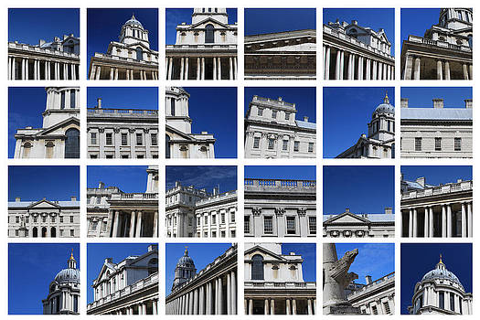Old Royal Naval College Greenwich London by Pauline Cutler