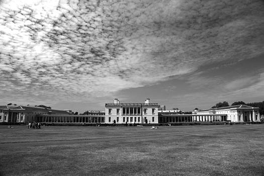 Old Royal Naval College Greenwich UK by Pauline Cutler