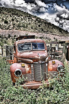 Old Rusted Truck 2 by Donald Tusa