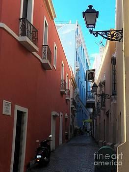 Old San Juan Street by Melanie Snipes