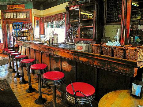 Old Soda Shoppe by Joyce Kimble Smith