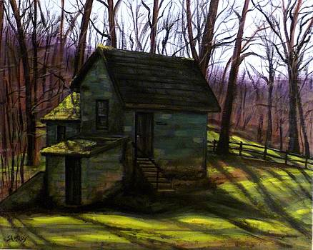 Old Springhouse by Scott Melby