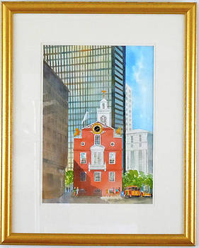 Old State House Boston by Harding Bush
