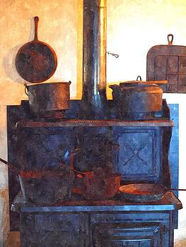 Tammy Bullard - Old Stove Watercolor Print