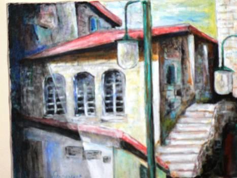 Old Synagog Jerusalem by Baruch Neria-Kandel