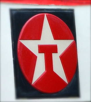 Old Texaco Sign by Kathy Lewis