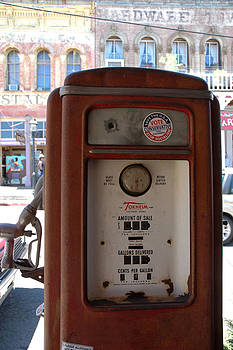 LeeAnn McLaneGoetz McLaneGoetzStudioLLCcom - Old Time Fuel Pump Virginia City NV