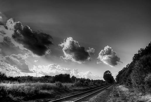 Old Time Railway by David Paul Murray