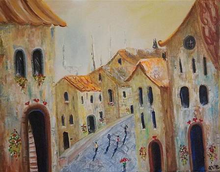 Old Town Noon by Anne Marie Spears