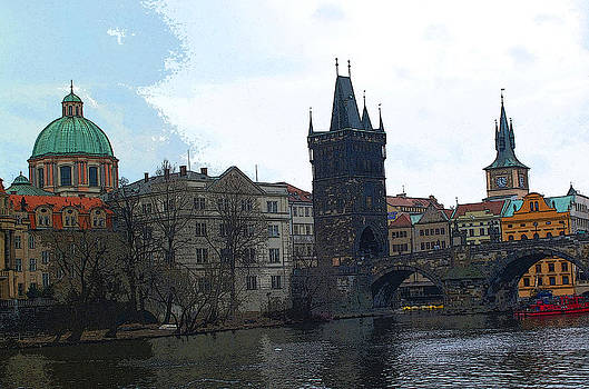Old Town Prague by Paul Pobiak