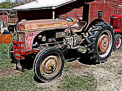 Old Tractor by Victoria Sheldon