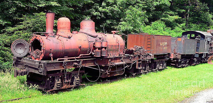 Old Train Color by Denise Jenks