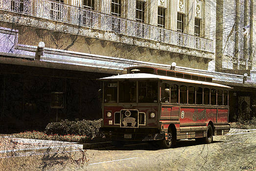 Old Trolley Time by Kelly Rader