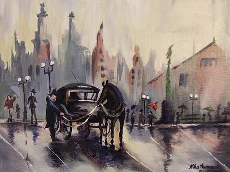 Old Vintage London by Khatuna Buzzell
