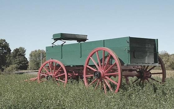 Valerie Kirkwood - Old Wagon