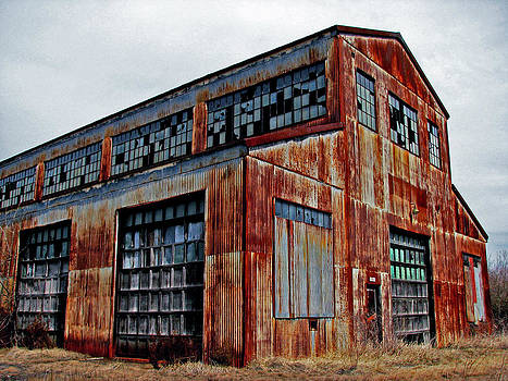 Old Warehouse by Off The Beaten Path Photography - Andrew Alexander