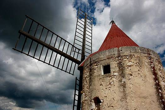 Old windmill by Frederic Vigne