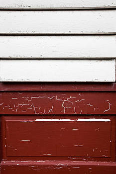 Old window and door with cracked paint by Anya Brewley schultheiss
