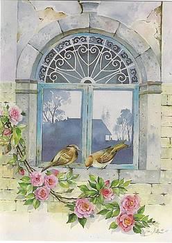 Old Window by Mahshid Zali