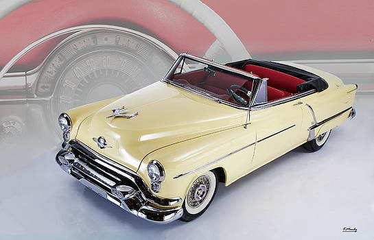 Olds 88 Convertible  by Kevin Moody