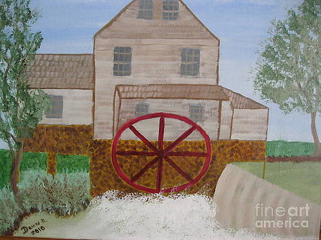 Ole' Grist Mill by Dawn Harrold