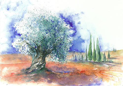 Olive Tree by Jitka Krause