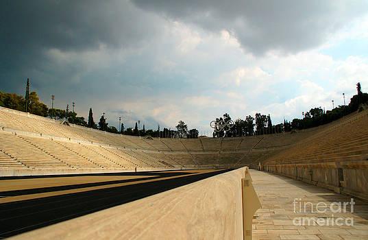 Olympic Stadium In Greece by Maria Varnalis