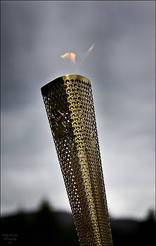 Olympic Torch 2012 by Andy Stuart