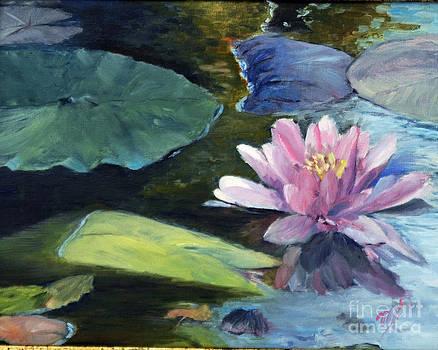 On Baribeau Pond by Marlene Petersen