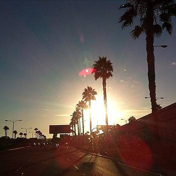 On My Way To The Airport In #sandiego by Carlee Brooke
