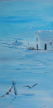 On the bay by Anne Marie Spears