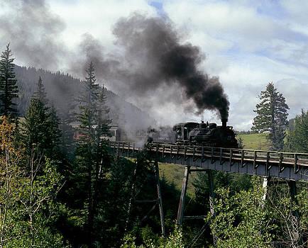 On the Bridge by John Wolf