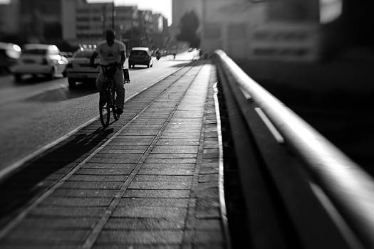 On The Distorted Bridge by Victor Bezrukov