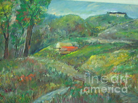 On The Hill by Ilona Pincse
