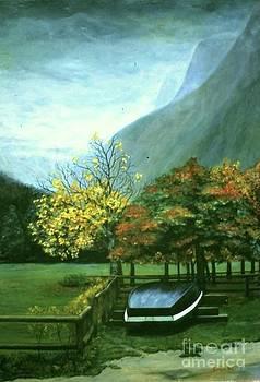 On the Konigsee by Michael John Cavanagh