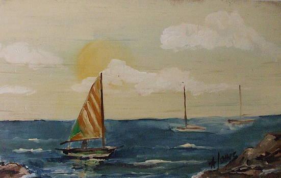 Amalia Jonas - On the sea