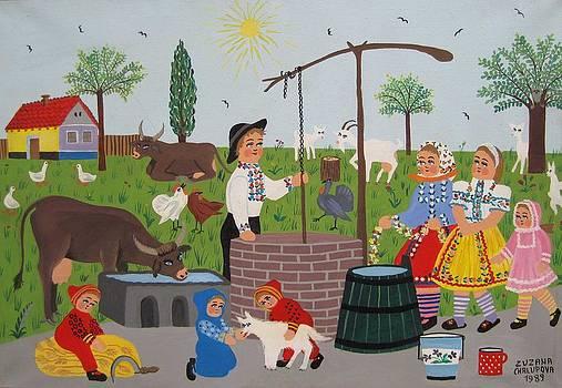 On the well by Zuzana Chalupova