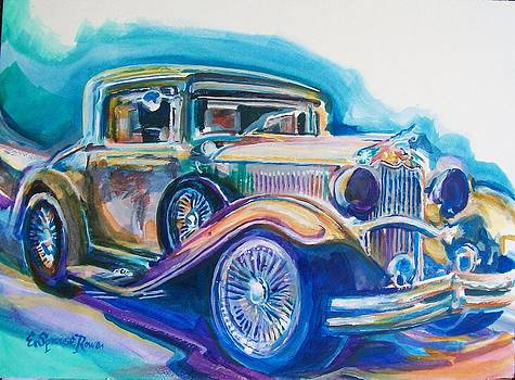 One of Dr Jack B's Cars by Evelyn Sprouse Rowe