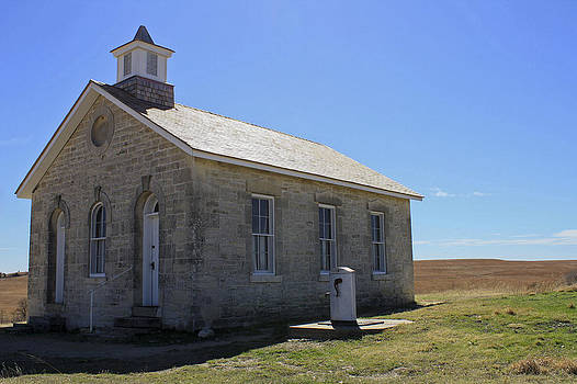 One Room School House by Bret D Rouse