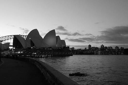 Opera House - Sunset  by Harlan Fijal-Campbell