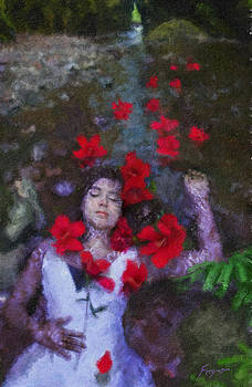Ophelia by Richard Ferguson