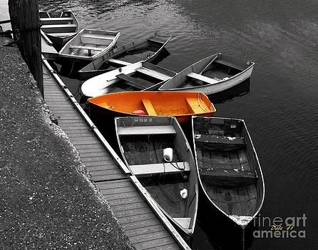 Dale   Ford - Orange Dinghy