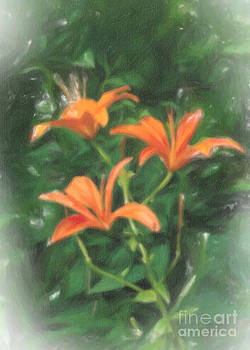 Edward Sobuta - Orange Lilies