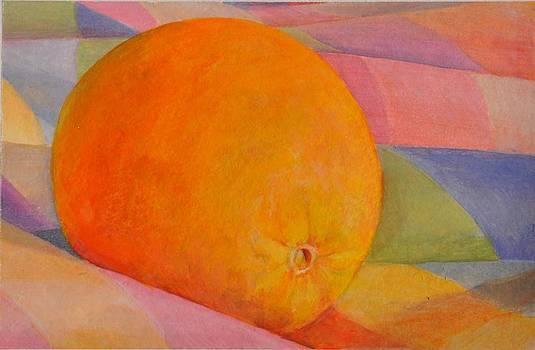 Orange Multicolore by Muriel Dolemieux