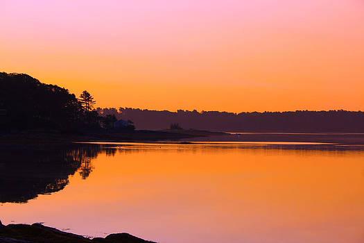 Orange Ocean by Robbie Basquez