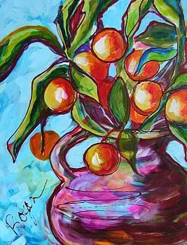 Orange Pops by Judy  Rogan