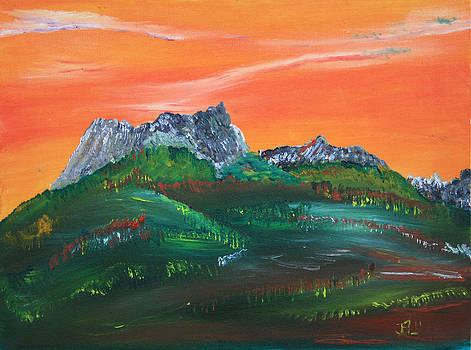 James Bryron Love - Orange Skies