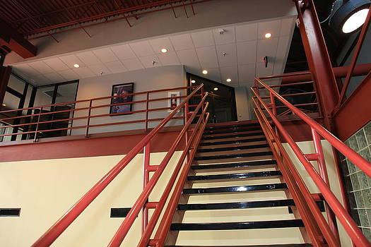 Orange Stairway  by Sheri Bartay