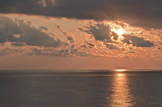 Orange Sunrise by Bill Perry